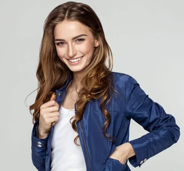 Szép lány mosolya 2